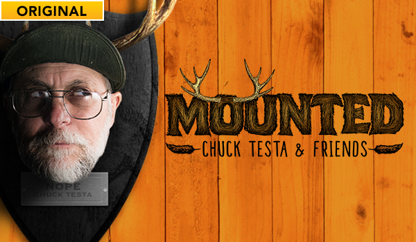 Mounted: Chuck Testa and Friends